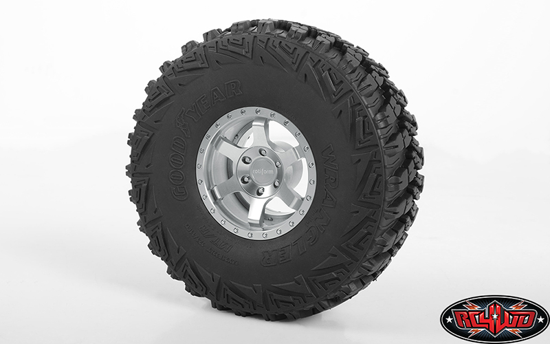 RC4WD Rotiform Six-OR 2.2 Beadlock Wheels (5)