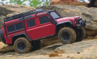 Rainy Day Adventure With The Traxxas TRX-4 [VIDEO]