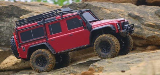Traxxas TRX-4 Rainy Day Adventure [VIDEO]
