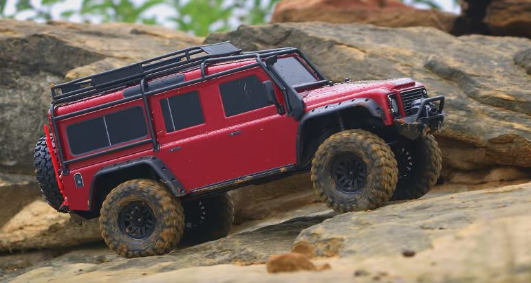 Rainy Day Adventure With The Traxxas TRX-4
