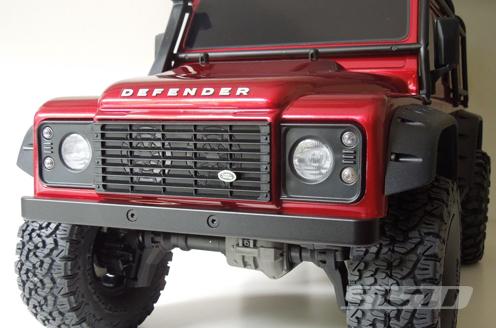 SSD D110 Aluminum Front Bumper For The TRX4 & SCX10 II (3)