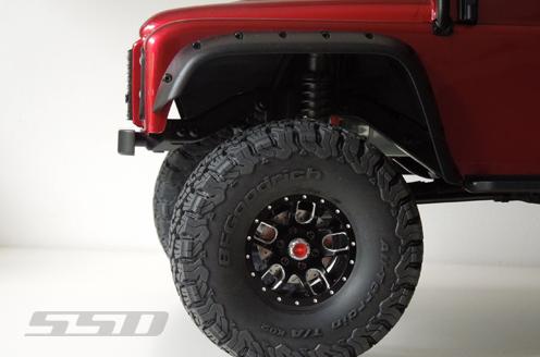 SSD D110 Aluminum Front Bumper For The TRX4 & SCX10 II (5)