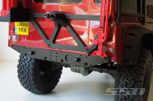 SSD D110 Aluminum Rear Bumper For The Traxxas TRX4 (2)