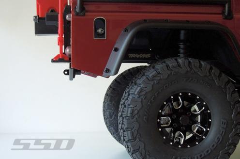 SSD D110 Aluminum Rear Bumper For The Traxxas TRX4 (3)
