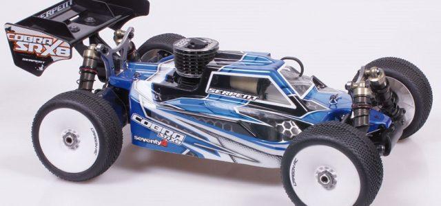 Serpent Cobra SRX8 EVO GP 1/8 4wd Nitro Buggy