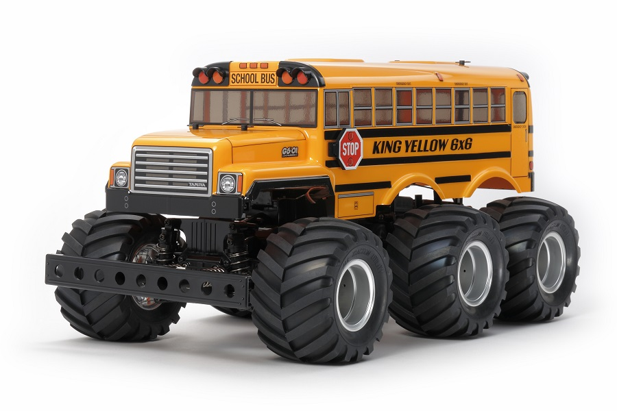 Tamiya King Yellow 6x6 Bus 2