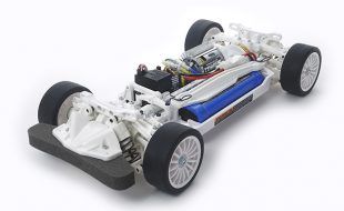 Tamiya Limited Edition White TT-02 Chassis Kit