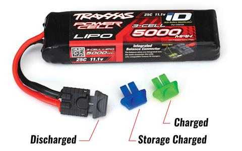 Traxxas Battery Charge Indicators (2)