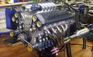 Someone Please Build a Car Around This 1/3 Scale V10 Engine [VIDEO]