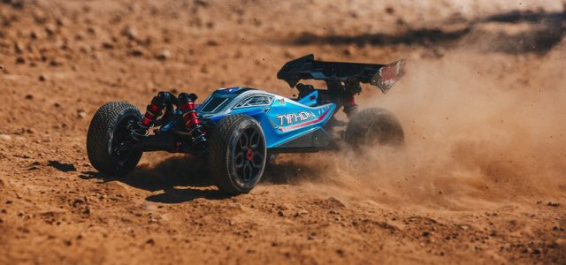 ARRMA RTR 1/8 Typhon 6S BLX 4WD Buggy [VIDEO]