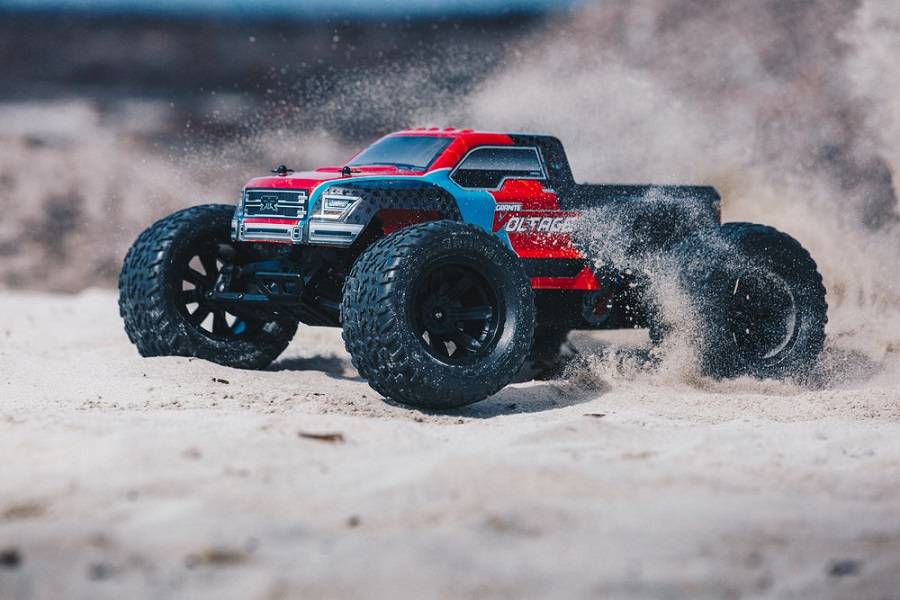 ARRMA RTR Fazon & Granite Voltage Trucks (11)