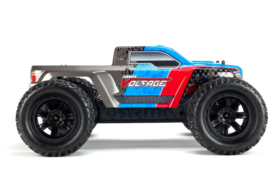 ARRMA RTR Fazon & Granite Voltage Trucks (4)
