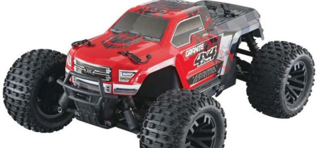 ARRMA RTR Senton & Granite Mega 4×4 Trucks [VIDEO]