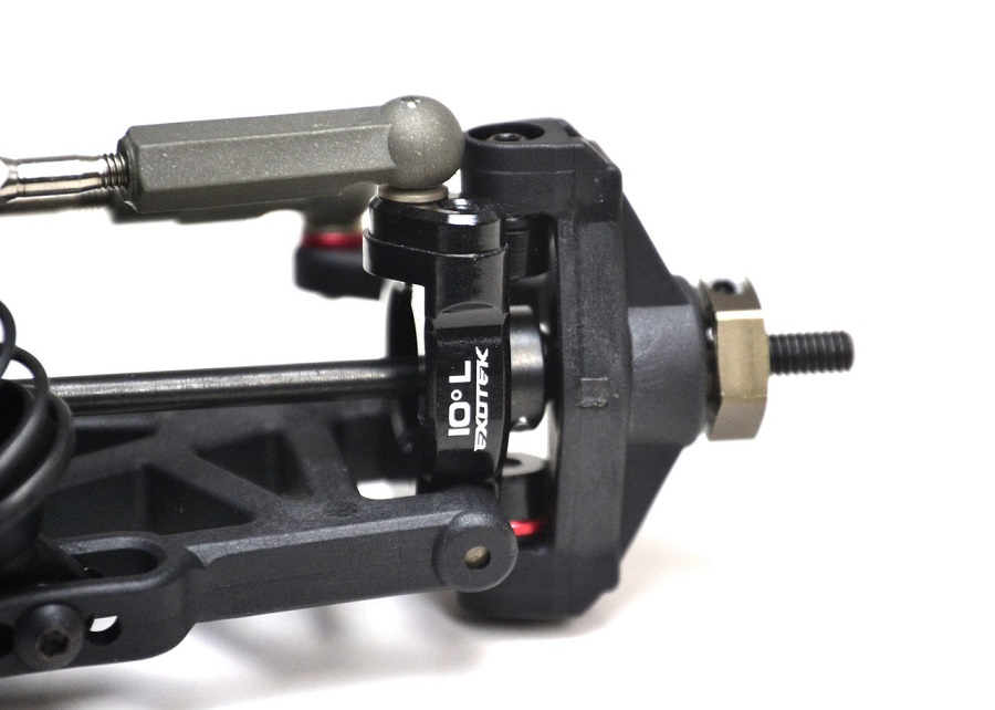 ExoTek 10° Caster Hubs For The ZX-6 (2)