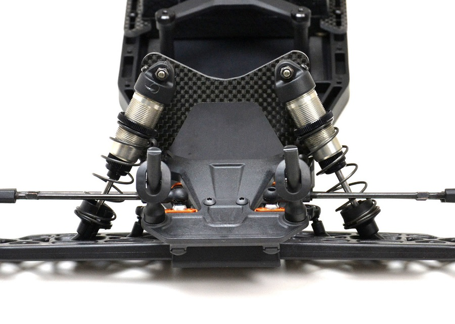 ExoTek 5mm Carbon Fiber Shock Towers For The XRAY XT2 (2)