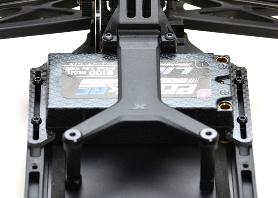 ExoTek Carbon Fiber LiPo Cups For The XRAY XB2 & XT2 (2)