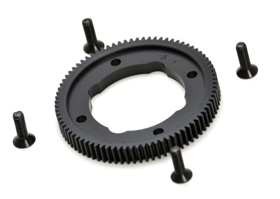 Exotek B64 Heavy Duty 81t Spur Gear (1)