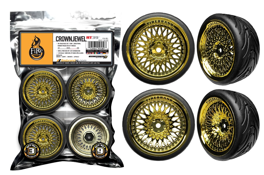 FireBrand RC CrownJewel-RT(40) Wheels