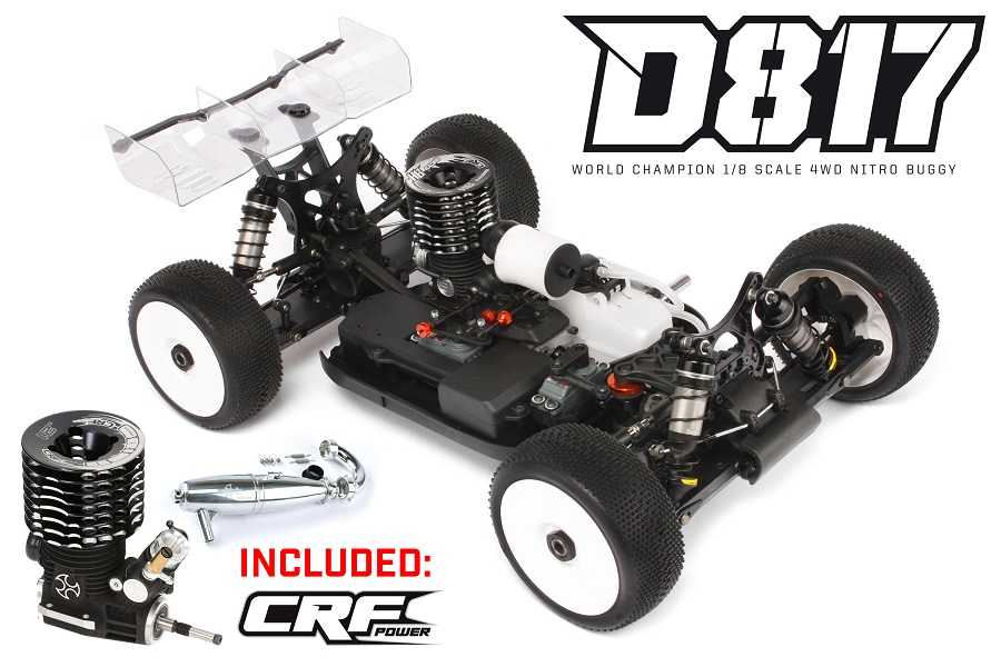 HB Racing Special Edition Kits Now With CRF Nitro Engines (1)