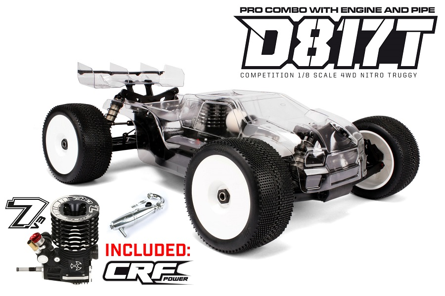 HB Racing Special Edition Kits Now With CRF Nitro Engines (3)