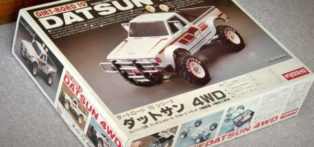Kyosho Had a Chain-Drive 4WD Trail Truck in 1984 [VIDEO]