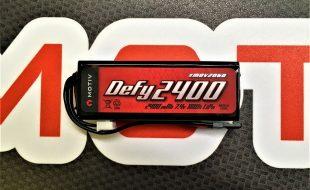 Motiv DEFY Long Use 2400 Li-Po Rx / Tx Pack