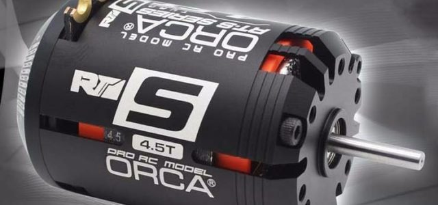 Orca Rt S 4 5t Sensored Brushless Motor Rc Car Action