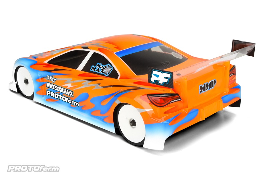 PROTOform MS7 Clear Body For 190mm Touring Cars (4)