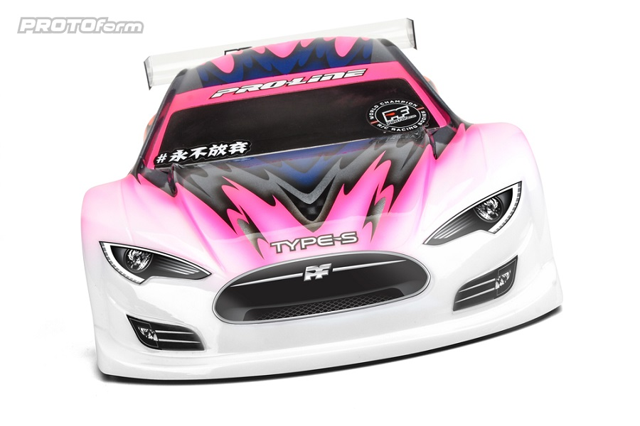 PROTOform Type-S Clear Body For 190mm Touring Cars (4)