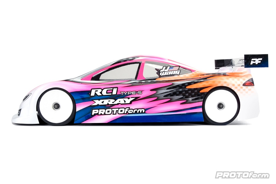 PROTOform Type-S Clear Body For 190mm Touring Cars (5)