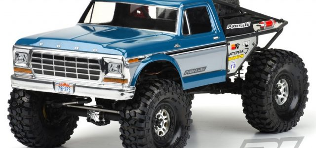 Pro-Line Ascender 1979 Ford F-150 Clear Body