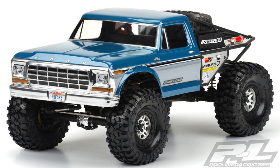Pro-Line Ascender 1979 Ford F-150 Clear Body - RC Car Action