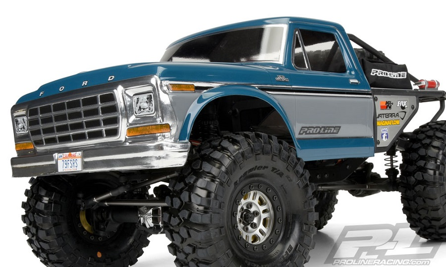 Pro Line Ascender 1979 Ford F 150 Clear Body Rc Car Action