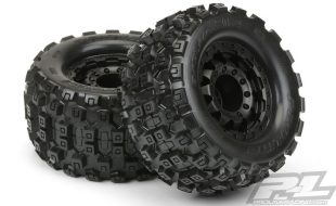 Pro-Line Badlands MX28 2.8″ Tires & F-11 17mm Wheels