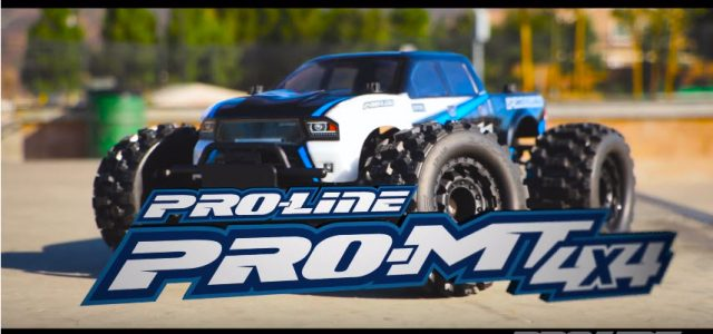 REVEALED: Pro-Line PRO-MT 4X4 [VIDEO]