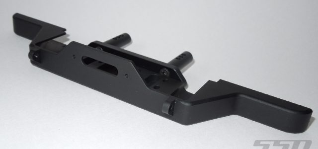 SSD Traxxas TRX-4 & Axial SCX10 II D110 Aluminum Winch Bumper