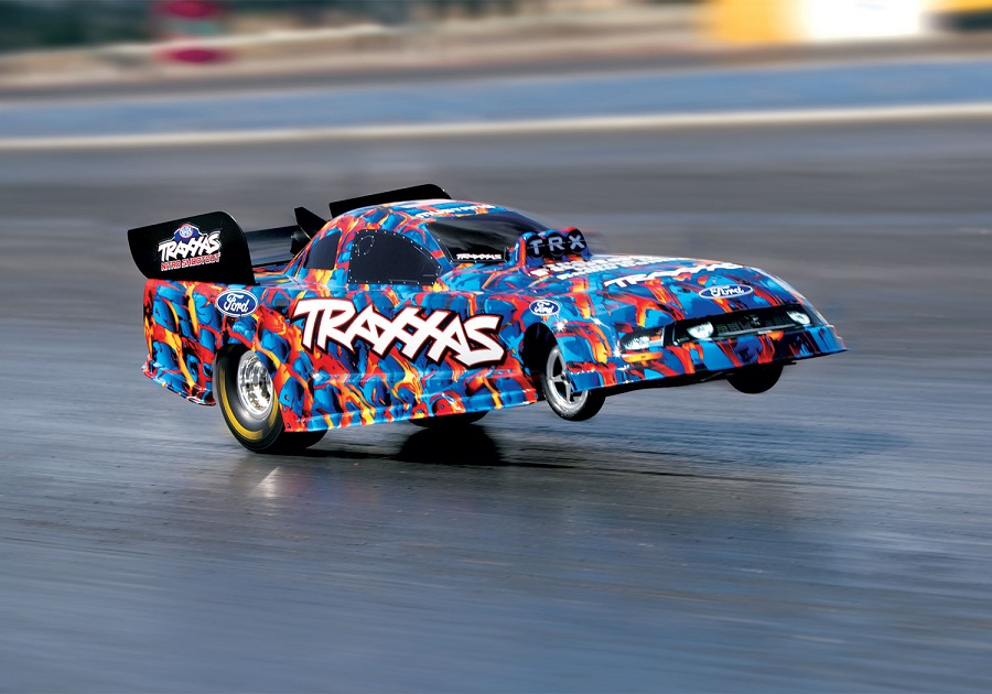 Traxxas RTR Ford Mustang NHRA Funny Car (1)