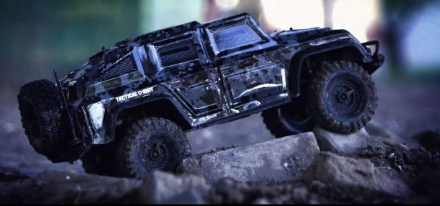 Traxxas Tactical Unit TRX-4 [VIDEO]
