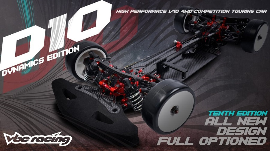 VBC Racing WildFireD10 Dynamics Edition 1_10 Touring Car Kit (3)