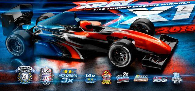 XRAY X1 2018 Formula Car Kit