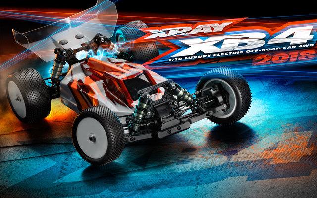 XRAY XB4 2018 4wd Buggy (1)