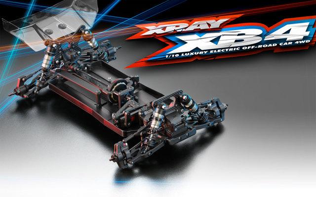 XRAY XB4 2018 4wd Buggy (4)
