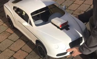 Here's a 1/4-Scale Bentley With Conley V8 Power [VIDEO]