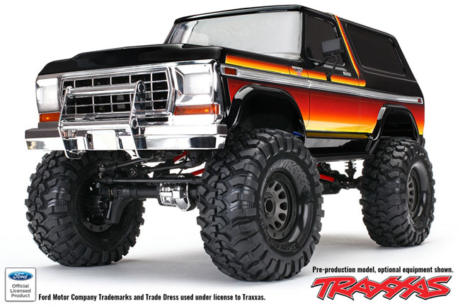 Red Hot Traxxas Trx 4 News Bronco 2 2 Kit Rc Car Action