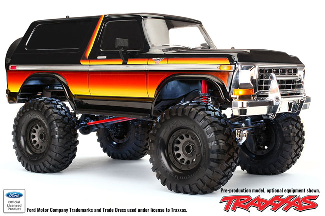 Lifted 1979 Ford Bronco >> RED HOT Traxxas TRX-4 News: Bronco! 2.2! Kit! - RC Car Action