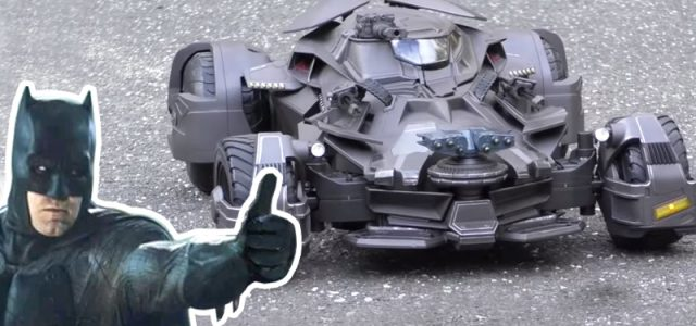 Mattel's 1/10 Battfleckmobile: Kinda Cool, Kinda Meh [VIDEO]