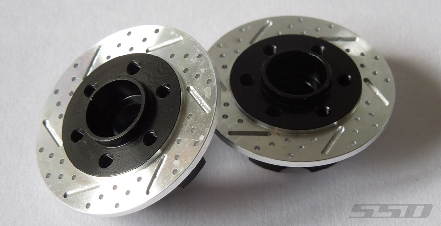 6mm Offset Wheel Hub With Brake Rotor By SSD