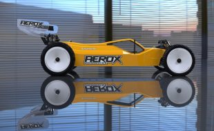 AEROX Clear Body For The Schumacher Cougar KC & KD