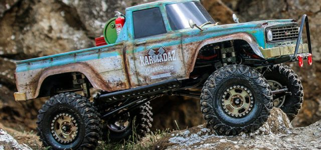 Carisma Scale Adventure SCA-1E 1.9″ Trail Rigs [VIDEO]