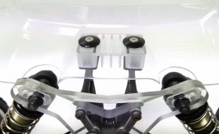 Raceform EB410 High Wing Mount & Under Wing Diffuser